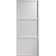 "Shaker Sliding Wardrobe Door 914mm (36"") White Panel Door"